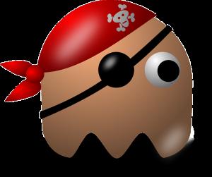 海賊のモチーフのキャラクター