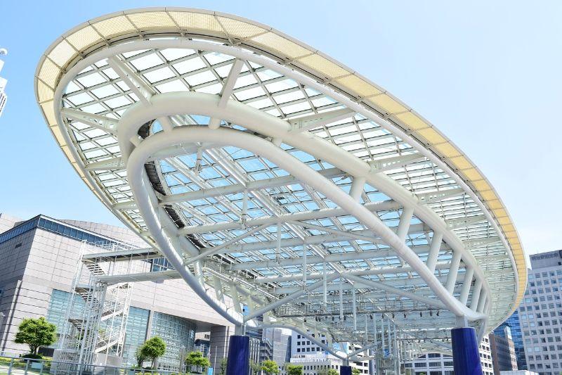 名古屋のオアシス21の風景