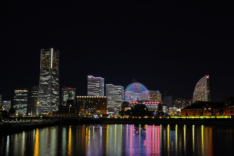 神奈川県の横浜の様子