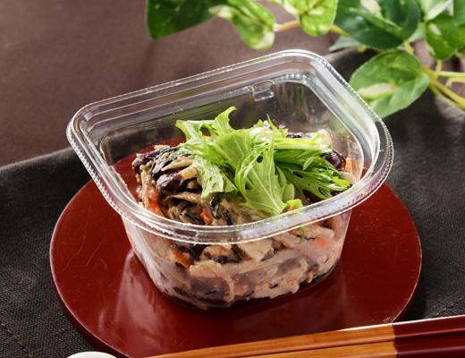 ひじきとごぼうのファイバーサラダの写真